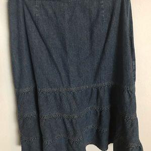 St. John's Bay Skirts - St. John's Bay Denim skirt